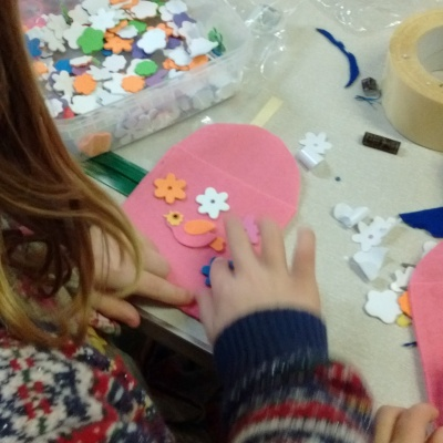 Messy Church - craft always an important part