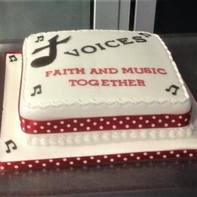 Voices Cake